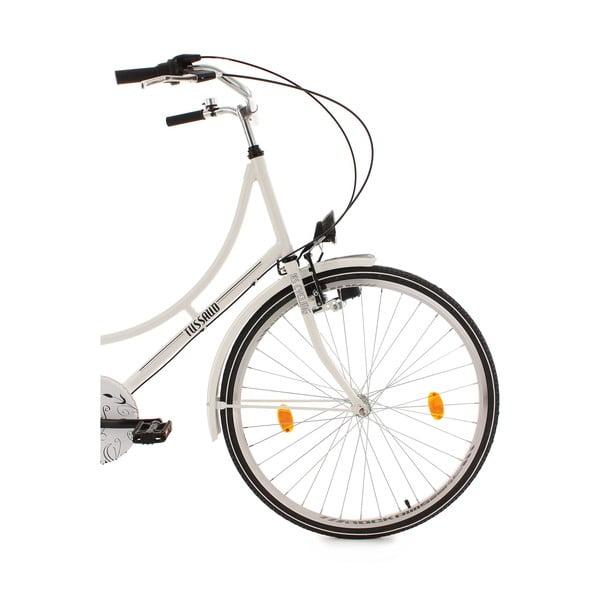 "Bicykel Tussaud Bike White, 28"", výška rámu 54 cm"