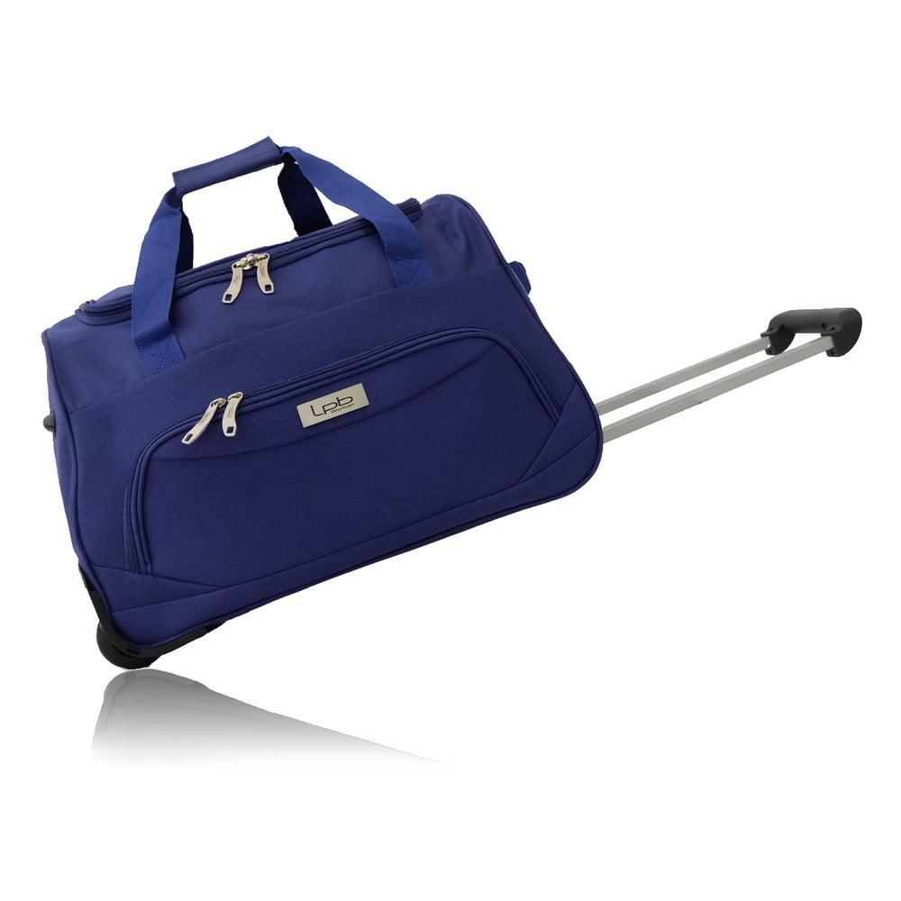 Modrá cestovná taška na kolieskach Les P'tites Bombes Goteborg, 91 l