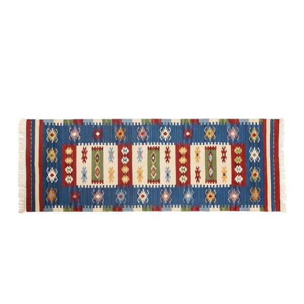Ručne tkaný koberec Kilim Dalush 304, 180x65 cm