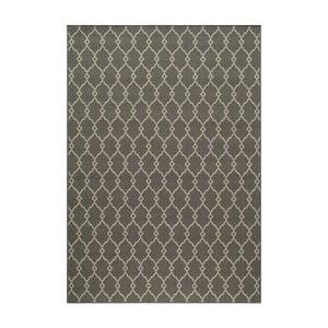 Sivý koberec Nourison Baja Cuzco, 229×160cm