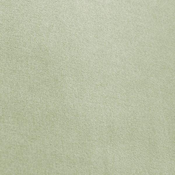 Svetlozelené kreslo Vivonita Chesterfield