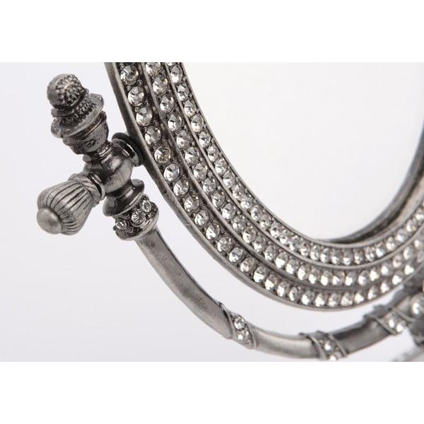 Stolové zrkadlo Silver, 19x26 cm