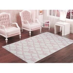Púdrovoružový odolný koberec Vitaus Scarlett, 60x90cm