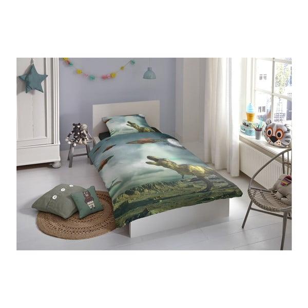 Detské obliečky na jednolôžko z čistej bavlny Good Morning Jason, 140 × 200 cm