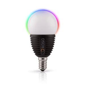 Šikovná LED žiarovka s možnosťou bluetooth ovládania Veho Kasa, E14