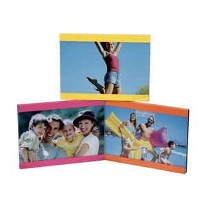 Farebný rámik na 3 fotografie Incidence Basics