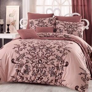 Bavlnené obliečky s plachtou na dvojlôžko Duque, 200 x 220 cm
