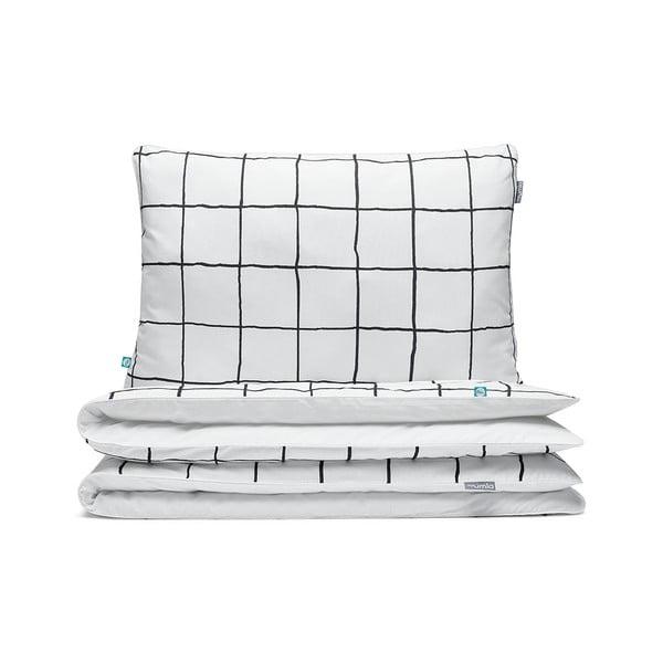Bavlnené obliečky na dvojlôžko Mumla Grid, 200×200cm