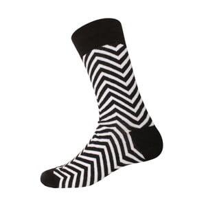 Ponožky Linie Black/White, veľkosť 40-44