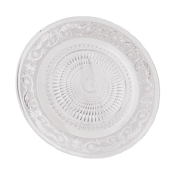 Sklenený tanier Clayre Eef, 25 cm