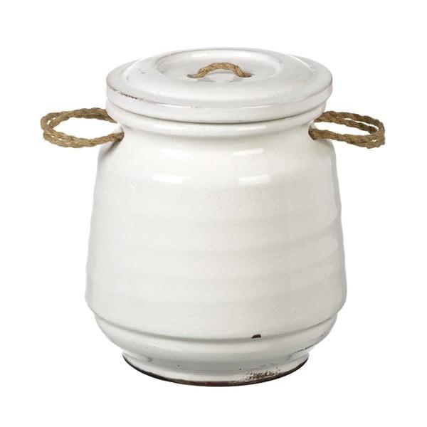 Keramická dóza Jar, 21 cm