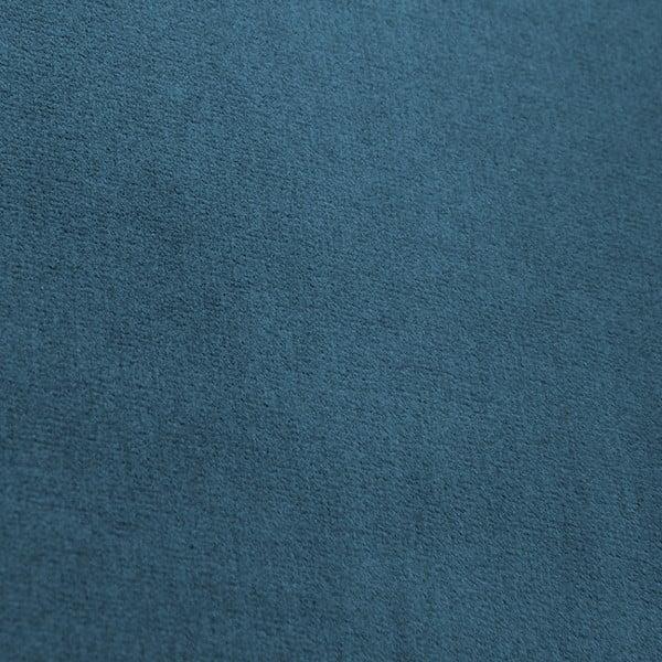Modré kreslo Vivonita Chesterfield