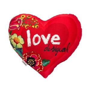 Vankúš DESIGUAL Heart Amaranth