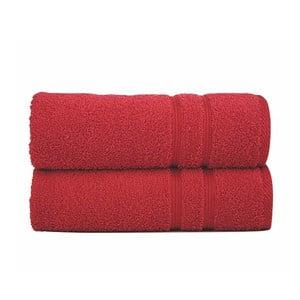 Osuška Sorema Basic Red, 70x140 cm