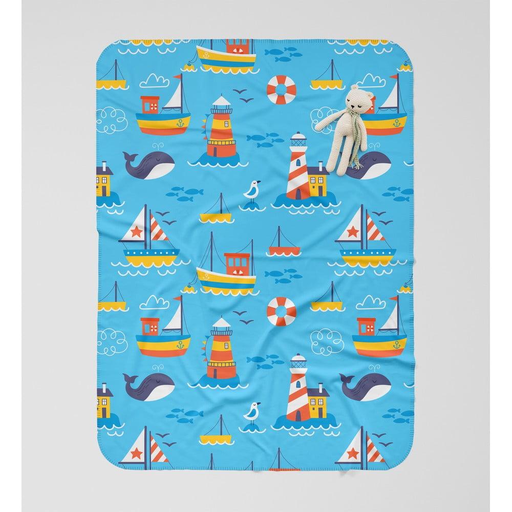 Detská deka OYO Kids Hello Summer, 120 x 160 cm