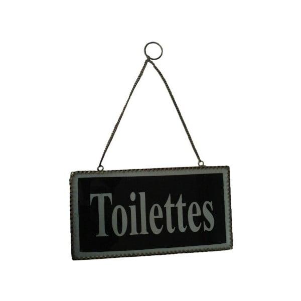 Ceduľka na dvere Plaque Toilettes