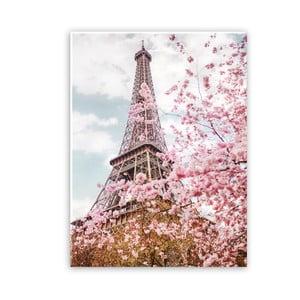 Obraz na plátne Styler Romantic Eiffel, 100 x 75 cm