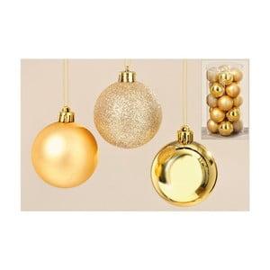 Sada 20 ks vianočných gulí Gold Balls