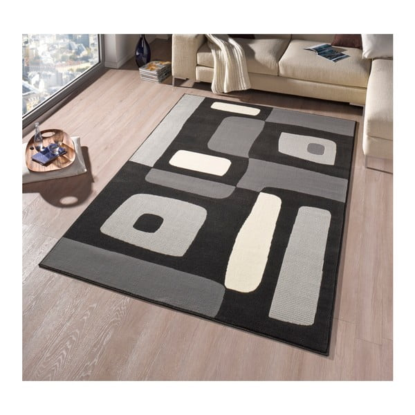 Koberec Hanse Home Hamla Will Black, 200 x 290 cm