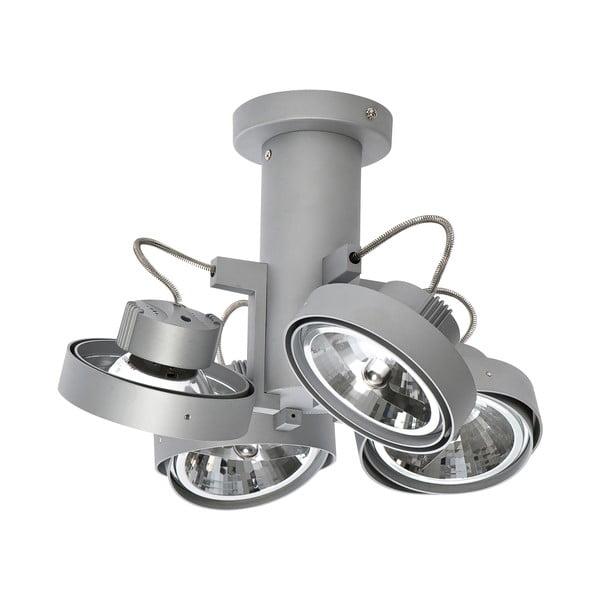 Sivé stropné svetlo so štyrmi bodovými svetlami ETH Lofar Octopus