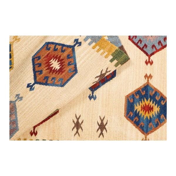 Ručne tkaný koberec Kilim Dalush 310, 180x65 cm