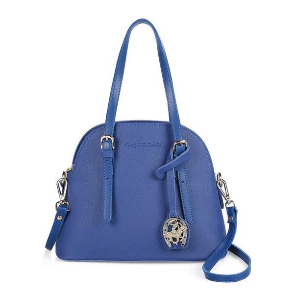 Modrá kabelka z eko kože Beverly Hills Polo Club Dedra