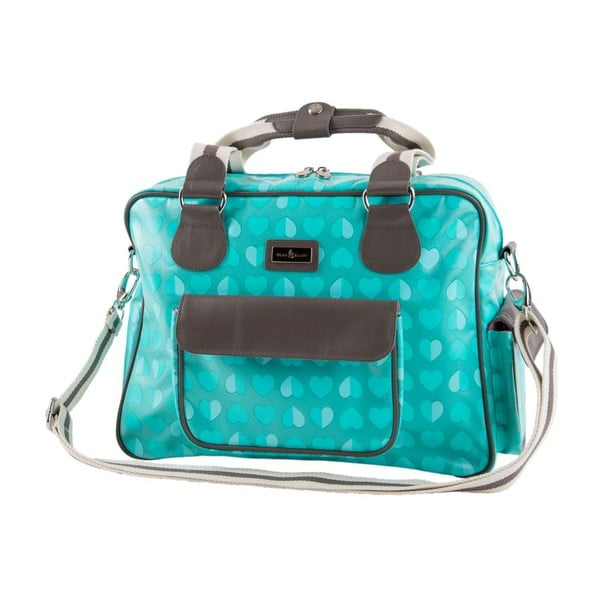 Prebaľovacia taška Beau&Elliot Aqua
