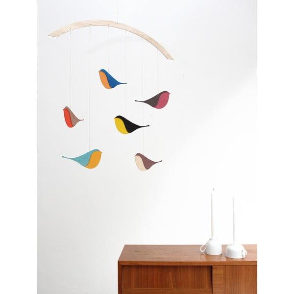Závesná dekorácia SNUG.Songbirds