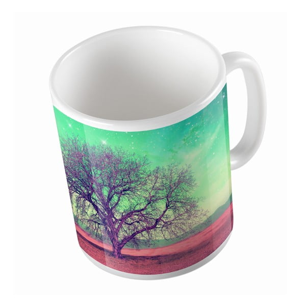 Keramický hrnček Magic Tree, 330 ml