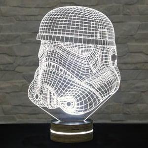 3D stolová lampa Mask