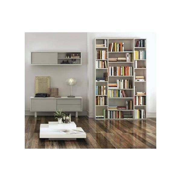 Biela knižnica TemaHome Valsa