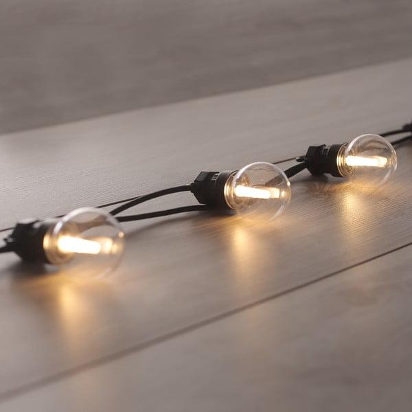 Dekoratívne svetielka DecoKing Basic Bulb, dĺžka 8 m