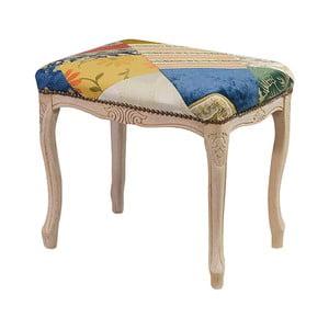 Drevená stolička Evergreen Hous Patchwork Rachel