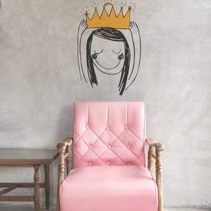 Samolepka Crown Princess, 28x31 cm
