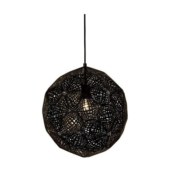 Závesné svetlo Metrix Dark, 40 cm