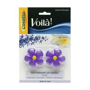 Sada 2 parfumovaných kvetín s vôňou gardénie Cosatto
