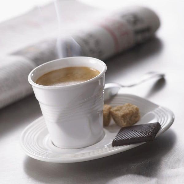 Pohárik na espresso Froisses 8 cl, biely