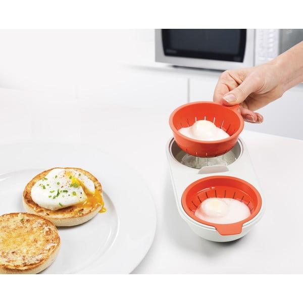 Miska na stratené vajcia do mikrovlnnnej rúry Joseph Joseph M-Cuisine