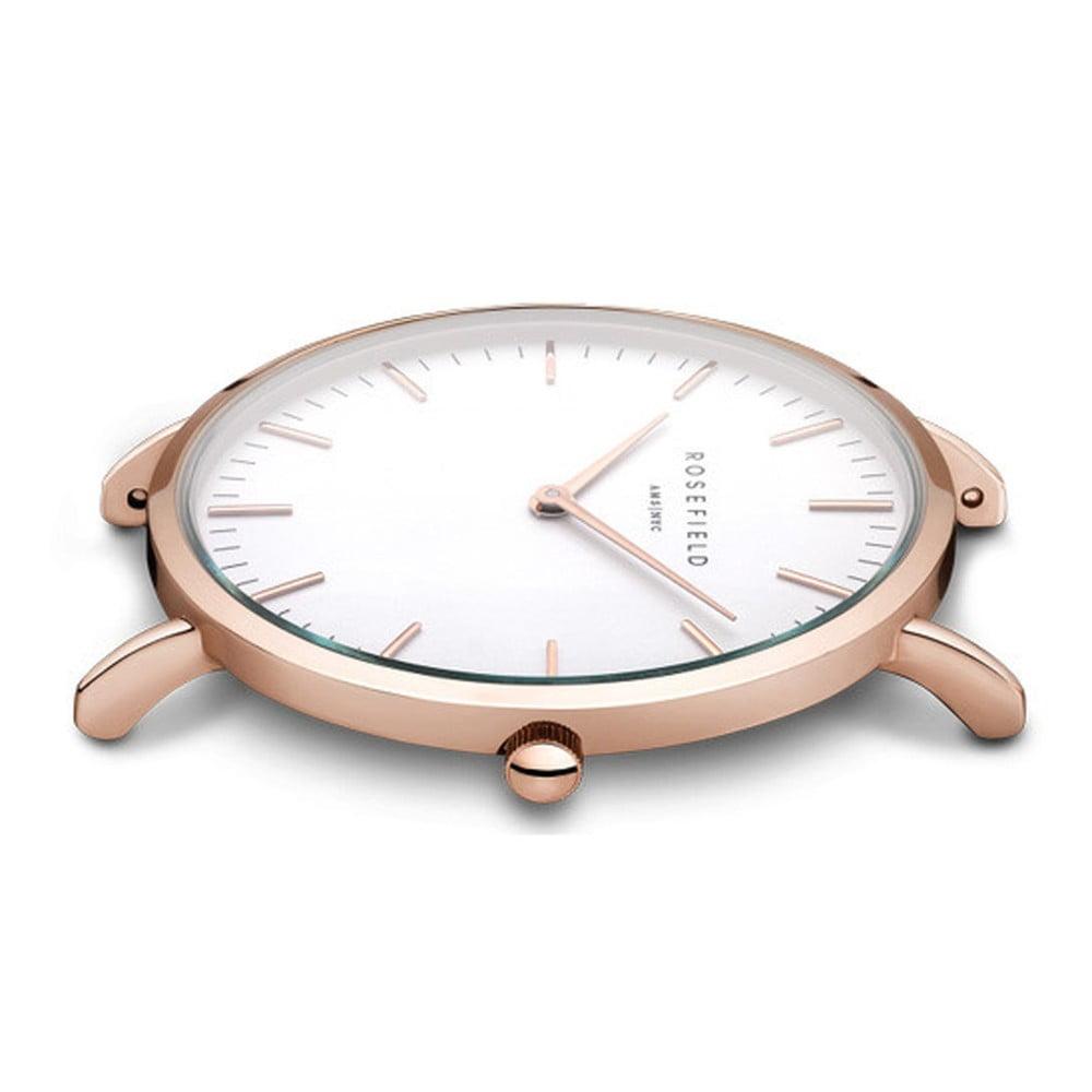 d8ece602b Bielo-hnedé dámske hodinky Rosefield The Bowery | Bonami