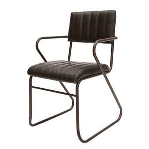 Čierna jedálenská stolička Canett Cavallo