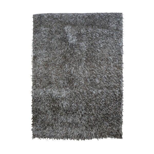 Sivý koberec Webtappeti Shaggy, 120 x 170 cm