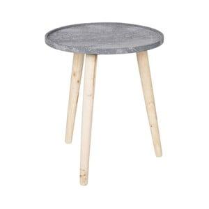 Sivý odkladací stolík DeEekhoorn Rover