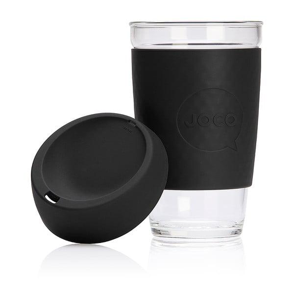 Eko hrnček na kávu Joco Cup 454 ml, čierny