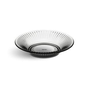 Sivý sklenený tanier Kähler Design Hammershoi Glassplate, ⌀ 17 cm