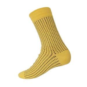 Ponožky Mini Dots Yellow, veľkosť 40-44