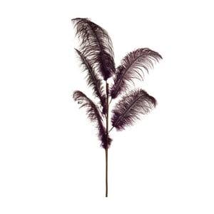 Dekoratívne pštrosie perie Aubergine, výška 125 cm