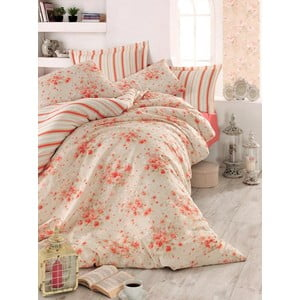 Ružová prikrývka na posteľ Love Colors Jayla, 200 x 240 cm