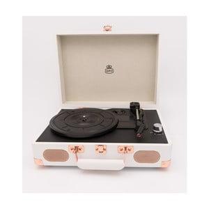 Biely gramofón GPO Soho White