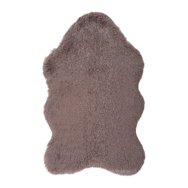 Hnedý kožušinkový koberec Floorist Soft Bear, 160 x 200 cm