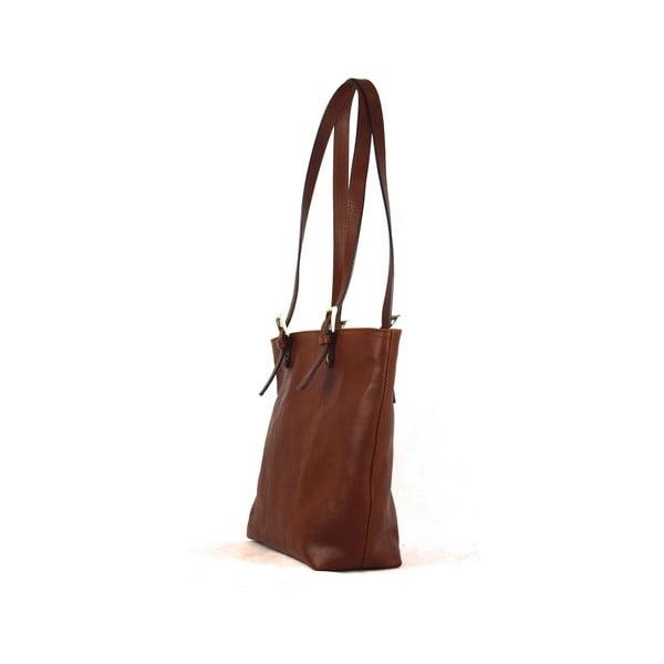 Kožená taška Santo Croce 132056 Brown